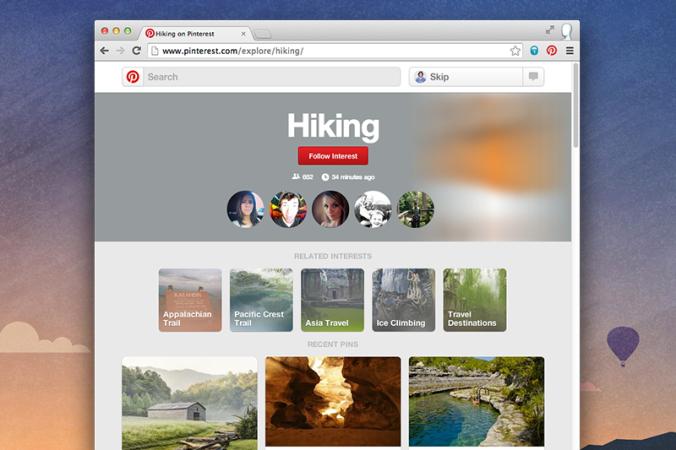 Pinterest-interest-follow